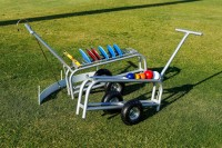 ATHLETICS-SHOTPUT TROLLEY