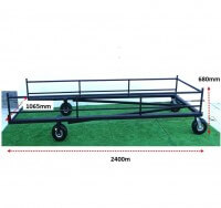 ATHLETICS-HURDLE TROLLEY - FIXED HURDLES-JNR (30)