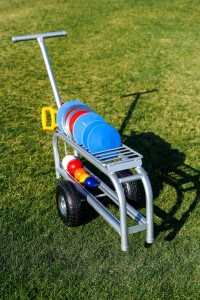 ATHLETICS-DISCUS/SHOTPUT COMBO TROLLEY