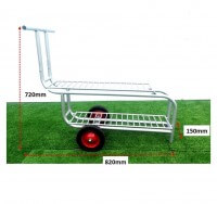ATHLETICS-DISCUS TROLLEY