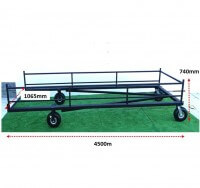 ATHLETICS-HURDLE TROLLEY - FIXED HURDLES-SNR/SCHOOL/CLUB(40)