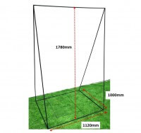 ARCHERY-TRIWALL STAND
