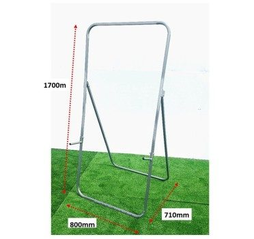 ARCHERY-TARGET EASEL w. HINGED LUGS