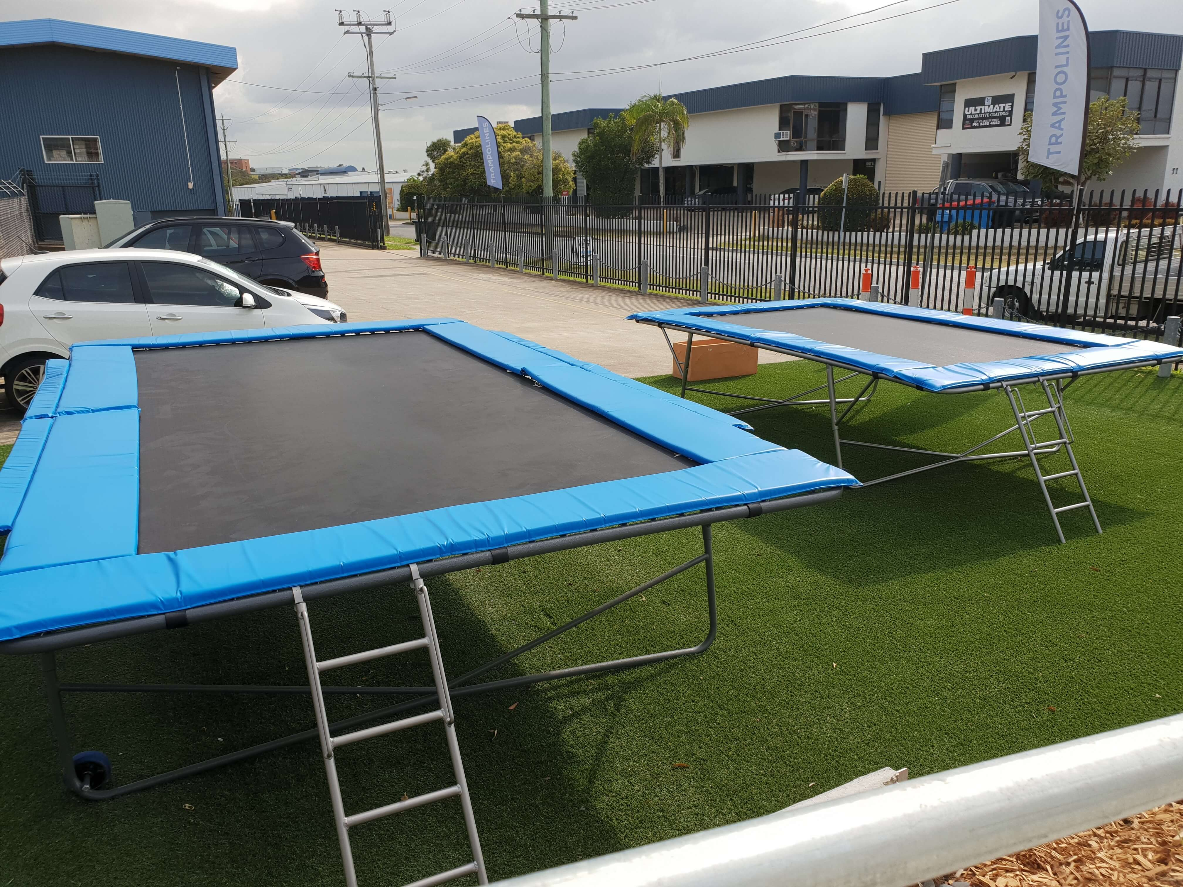 BIG TRAMPOLINE SALE-APRIL ONLY